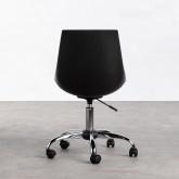 Verstellbarer Bürostuhl mit Rädern Stile, Miniaturansicht 4