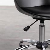 Verstellbarer Bürostuhl mit Rädern Stile, Miniaturansicht 6