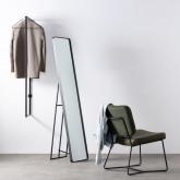 Wand-Garderobe aus Stahl (45x35 cm) Tulga, Miniaturansicht 2