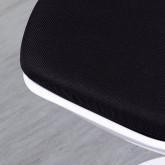 Esszimmerstuhl aus Polypropylen und Metall Freya White, Miniaturansicht 5