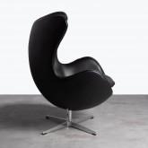 Sessel mit Armlehnen aus Kunstleder Citta, Miniaturansicht 3