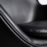 Sessel mit Armlehnen aus Kunstleder Citta, Miniaturansicht 5
