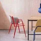 Esszimmerstuhl aus Metal Matil, Miniaturansicht 2
