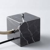 Tischlampe aus Marmor und Eisen Holli, Miniaturansicht 6