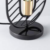Tischlampe aus Stahl und Marmor Nima, Miniaturansicht 4