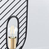 Tischlampe aus Stahl und Marmor Nima, Miniaturansicht 5