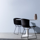 Esszimmerstuhl aus Polypropylen und Metall Circus, Miniaturansicht 2