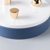 Rundes Schmuckkästchen mit Deckel aus Dolomit Dimer, Miniaturansicht 6