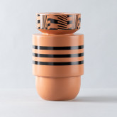 Vase aus Dolomit Eibel Musta, Miniaturansicht 1