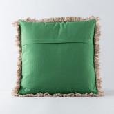Quadratisches Kissen aus Poliester und Samt (50x50 cm) Selvo, Miniaturansicht 3