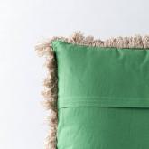 Quadratisches Kissen aus Poliester und Samt (50x50 cm) Selvo, Miniaturansicht 4
