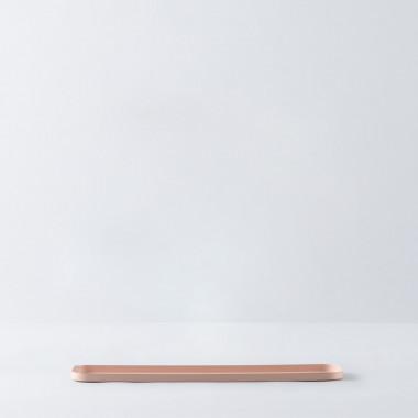 Dekoratives Tablett aus Stahl Lita