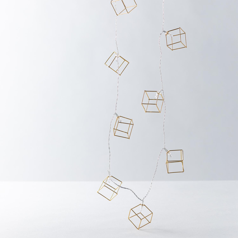 LED-Deko-Girlande Cubik, Galeriebild 1