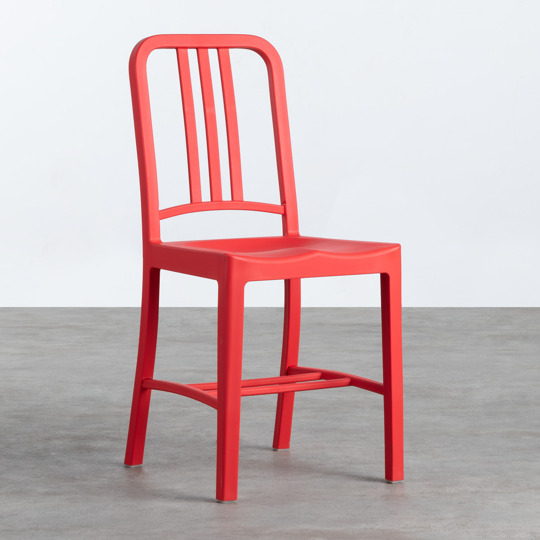 Outdoor-Stuhl aus Polypropylen Marin, Galeriebild 1
