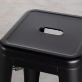 Hoher Hocker aus Stahl industrial Frosted (77 cm), Miniaturansicht 3