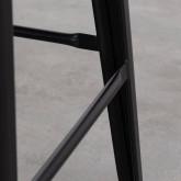 Hoher Hocker aus Stahl industrial Frosted (77 cm), Miniaturansicht 4