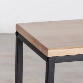 Konsole aus Holz und Metall Ferro, Miniaturansicht 4
