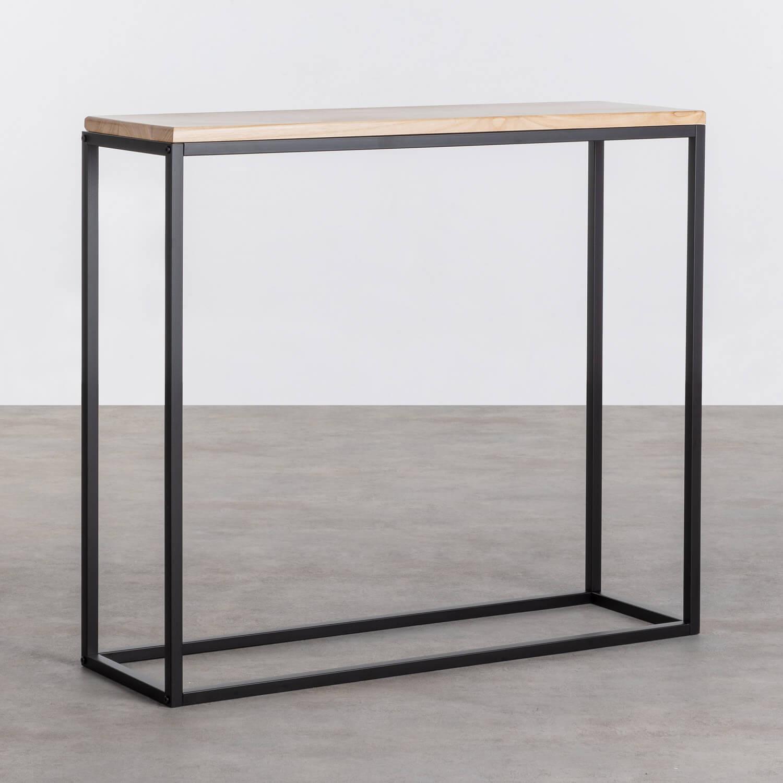 Konsole aus Holz und Metall Ferro, Galeriebild 1