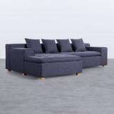 Sofa Chaiselongue (links) 3-Sitzer aus Stoff Korver, Miniaturansicht 1