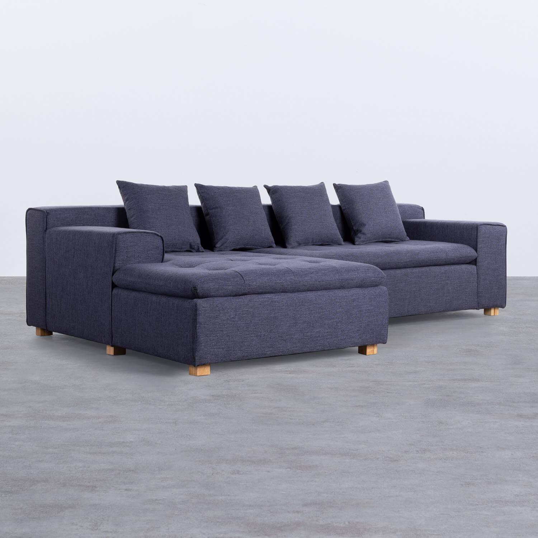 Sofa Chaiselongue (links) 3-Sitzer aus Stoff Korver, Galeriebild 1