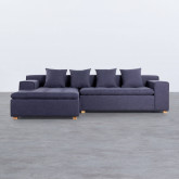 Sofa Chaiselongue (links) 3-Sitzer aus Stoff Korver, Miniaturansicht 3