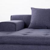 Sofa Chaiselongue (links) 3-Sitzer aus Stoff Korver, Miniaturansicht 7