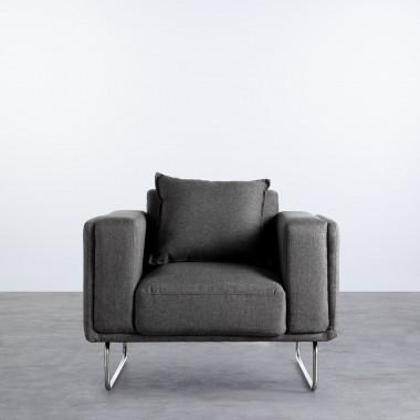 Sessel mit Armlehnen aus Textil Mara