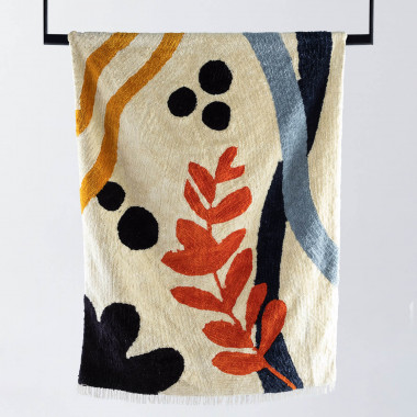 Handgefertigter Teppich Fle 230x160 cm