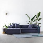 Sofa Chaiselongue (links) 3-Sitzer aus Stoff Korver, Miniaturansicht 2