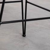 Hoher Hocker aus natürlichem Rattan Italia (76 cm), Miniaturansicht 6