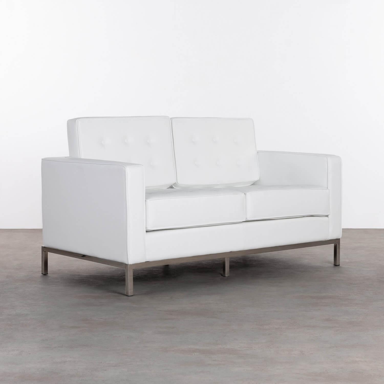 Sofa 2-Sitzer- in Kunstleder Schi, Galeriebild 1