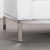 Sofa 2-Sitzer- in Kunstleder Schi, Miniaturansicht 6
