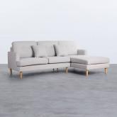 Sofa Chaiselongue rechts 3-Sitzer- aus Stoff Jhollis, Miniaturansicht 3