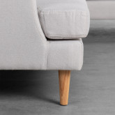 Sofa Chaiselongue rechts 3-Sitzer- aus Stoff Jhollis, Miniaturansicht 5