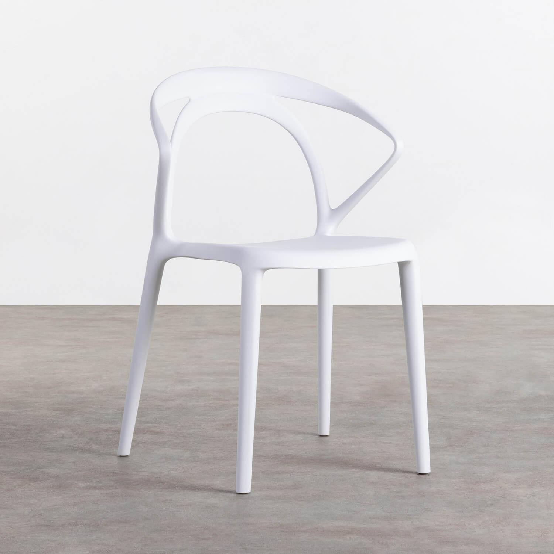Outdoor Stuhl aus Polypropylen Erdy, Galeriebild 1