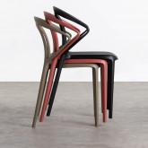 Outdoor Stuhl aus Polypropylen Erdy, Miniaturansicht 2