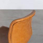 Hoher verstellbarer Hocker aus Kunsleder Seam (61-82 cm), Miniaturansicht 5