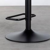 Hoher verstellbarer Hocker aus Kunsleder Seam (61-82 cm), Miniaturansicht 7