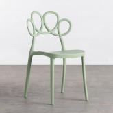 Outdoor Stuhl aus Polypropylen Eda, Miniaturansicht 1