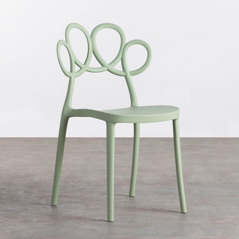 Outdoor Stuhl aus Polypropylen Eda, Galeriebild 1