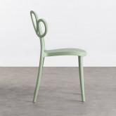 Outdoor Stuhl aus Polypropylen Eda, Miniaturansicht 3