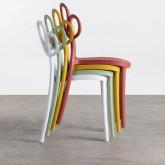 Outdoor Stuhl aus Polypropylen Eda, Miniaturansicht 2
