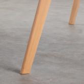 Rechteckiger Esstisch aus MDF und Holz (180x90 cm) Fery, Miniaturansicht 5