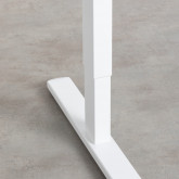 Höhenverstellbarer Schreibtisch (71-116 cm) aus Stahl Ksenia, Miniaturansicht 9
