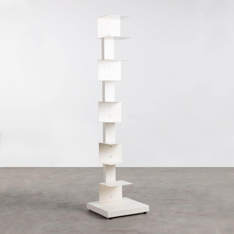 Freistehendes Bücherregal aus Metall Lerro, Galeriebild 1