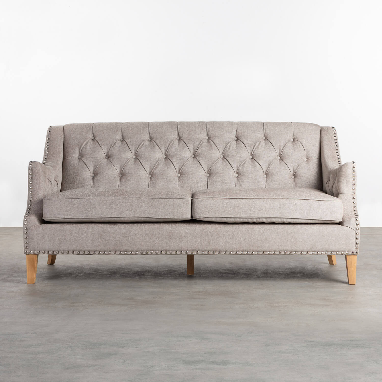 Sofa 3-Sitzer- in Kunstleder Principessa, Galeriebild 1