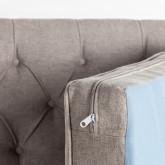 Sofa 3-Sitzer- in Kunstleder Principessa, Miniaturansicht 4