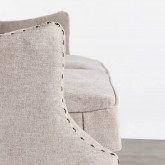 Sofa 3-Sitzer- in Kunstleder Principessa, Miniaturansicht 7