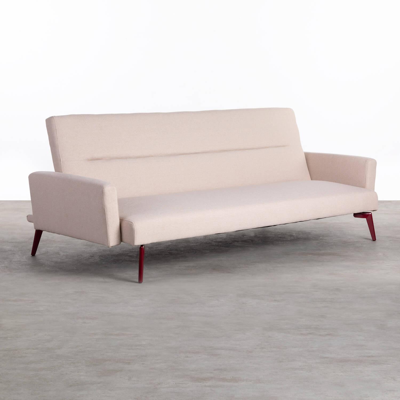 3-Sitzer Schlafsofa aus Stoff Natsu, Galeriebild 1