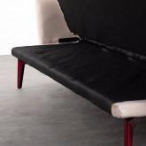 3-Sitzer Schlafsofa aus Stoff Natsu, Miniaturansicht 10